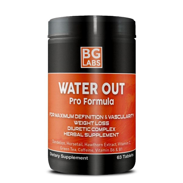BG LABS Water Out 63 tablet x 2 Kutu