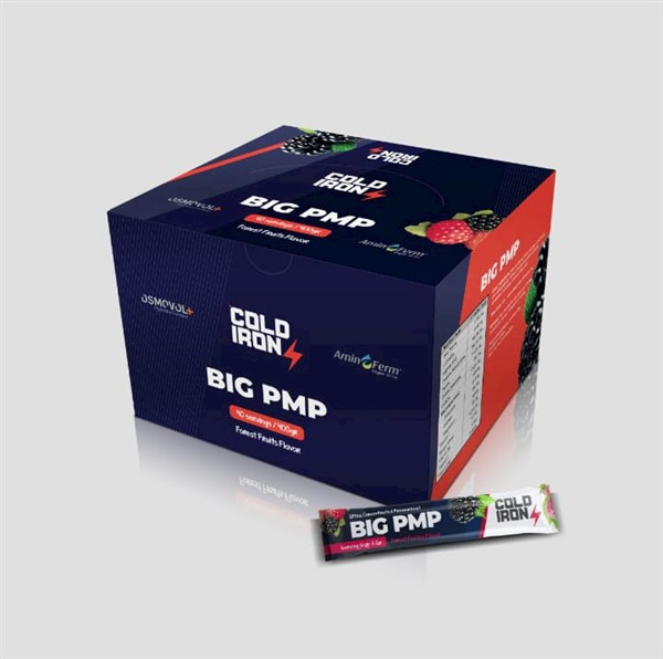 Cold Iron Big Pmp Pre-Workout 40 Servis Orman Meyveli