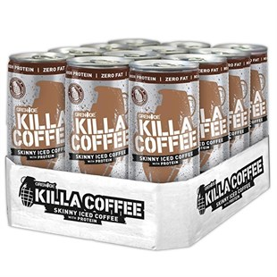 Grenade Killa Coffee Protein Shake 250 ml Caffe Latte x 12 Adet
