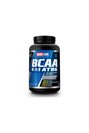 Hardline Nutrition Bcaa 4:1:1 ATB6 120 Tablet