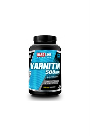 Hardline Nutrition Karnitin 500 mg 100 Kapsül