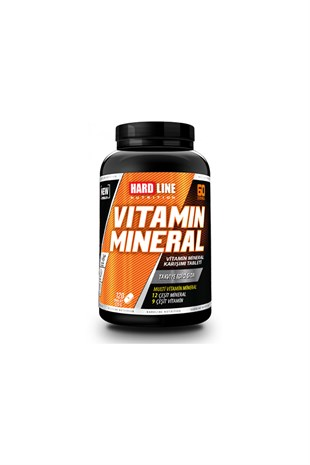 Hardline Nutrition Vitamin Mineral 120 Tablet