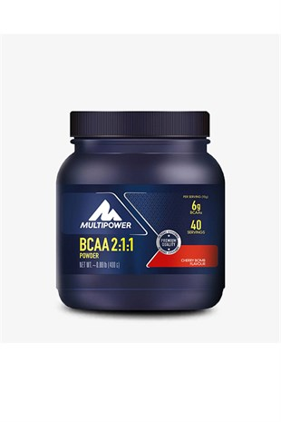 Multipower Bcaa Powder 400 Gram Kirazlı