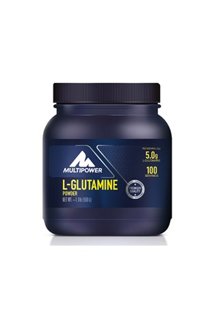 Multipower L-Glutamin %100 Powder 500 Gram
