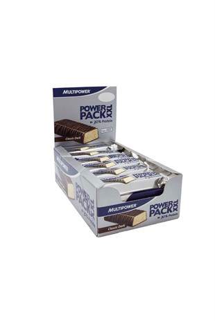 Multipower Power Pack XXL Classic 60 Gram x 24 Adet Protein Bar