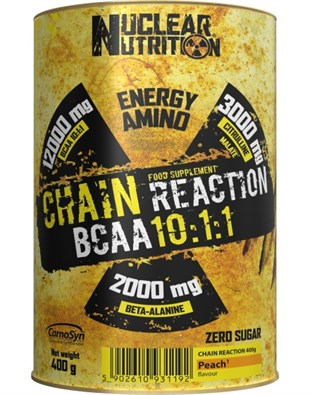 Nuclear Nutrition Chain Reaction Bcaa 10:1:1 400 Gram Portakallı