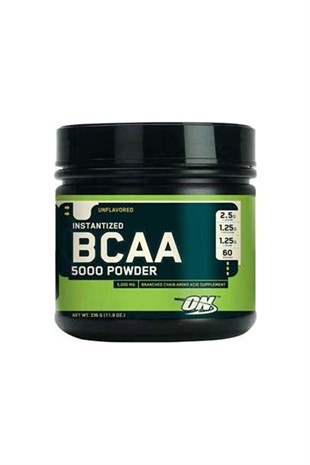 Optimum Nutrition Bcaa 5000 Powder 336 Gram Toz