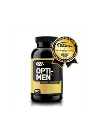 Optimum Nutrition Opti-Men Erkeklere Özel 180 Tablet