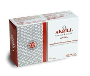 Akrill Krill Oil 30 Kapsül
