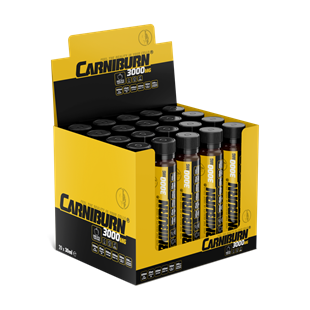 Biogain Nutrition Carniburn Shot 30ml x 20 AmpulBiogain Nutrition Carniburn 3000 mg 30ml 20 ampulKarnitin