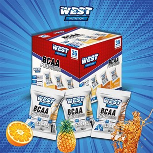 West Nutrition BCAA 12000 Plus Glutamin Taurin 36 Şase