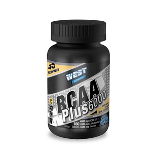 West Nutrition Bcaa Plus 6000 4:1:1 + Glutamin + Taurin 160 Tablet