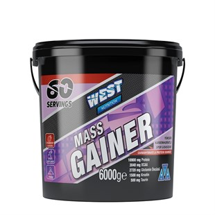 West Nutrition Mass Gainer 6000 Gram